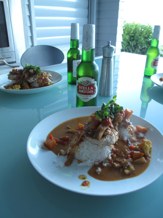 Scotty Staples Signature Snapper Fish Curry.