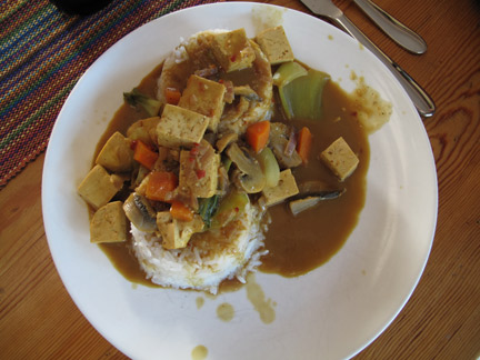 Scott Staples Tofu Curry