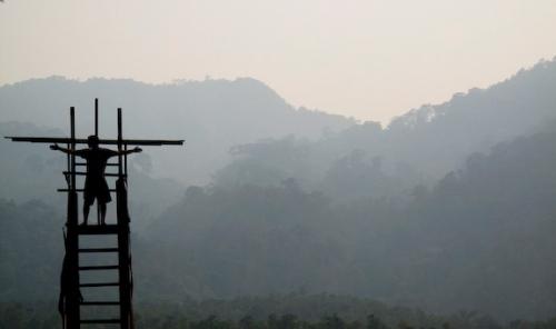 """""""Cross Thai"""" Somewhere in northern Thailand"""