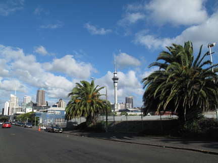 Auckland from a back street