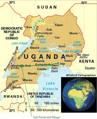 Kampala to Fort Portal