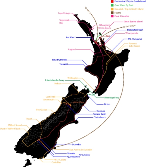 My NZ Travels