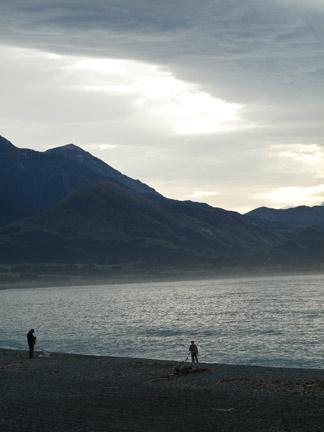 Beautiful Kiakora, Mountains and Sea