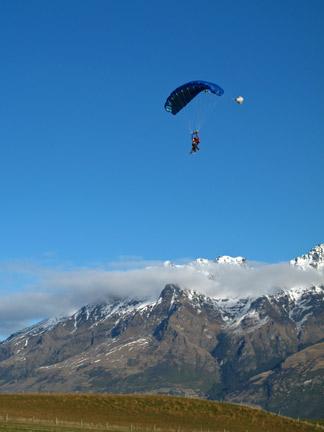 Parachute Decent