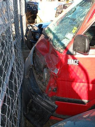 Front End Damage