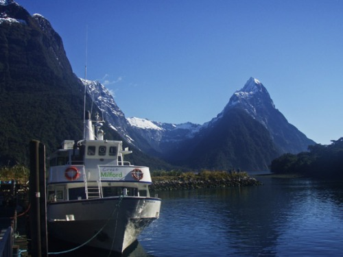 The Ferry We Took On Milford Sound