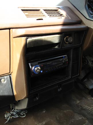 Installed Radio...Finally!