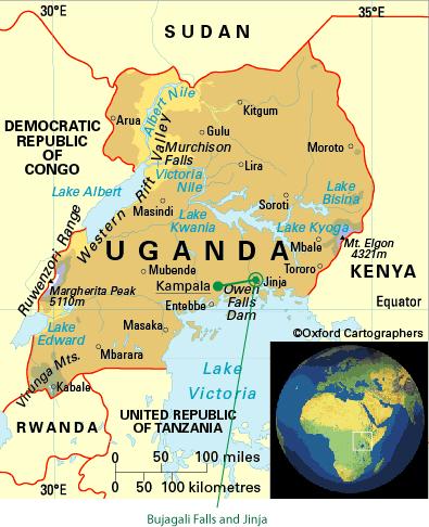 Kampala to Jinga and Bujagali Falls