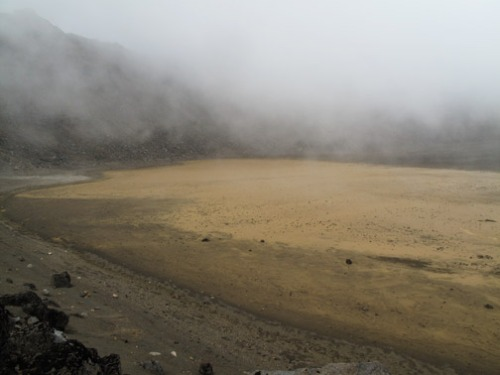 Foggy Crater