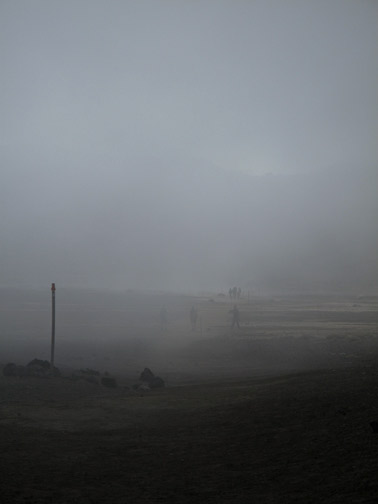 Fog In Crater