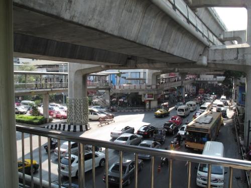 Busy Bangkok Streets