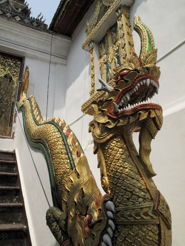 Stairway Dragon Serpent
