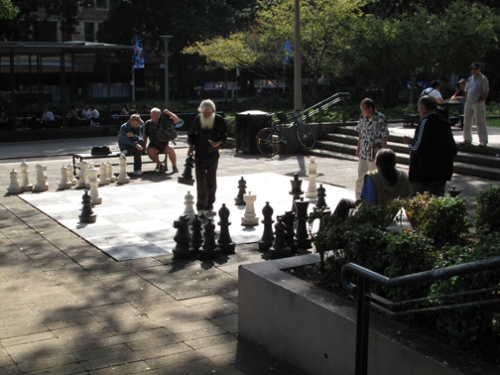 Hyde Park Chess