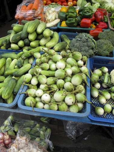 Veggies at Thailand Market