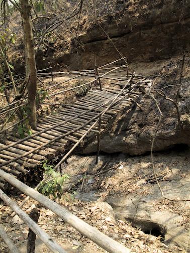 """bridge"" to waterfall"