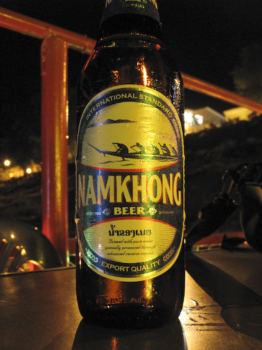 Namkhong on the River Barge