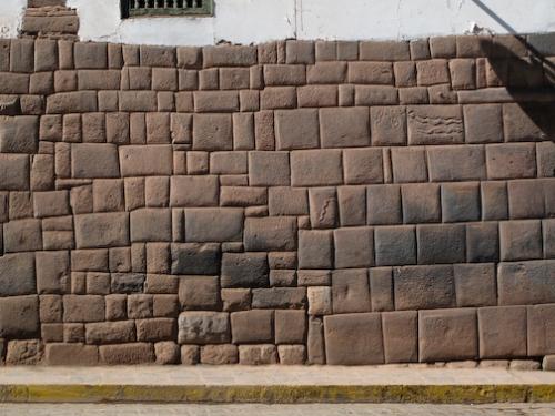 Original Inca Wall