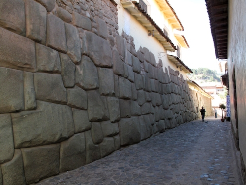 Famous Inca Wall