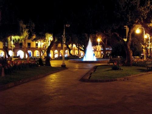 The Plaza at Night