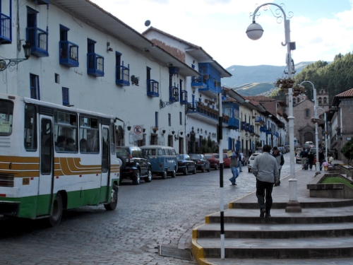 Small Plaza Adjacent to the Plaza De Armas