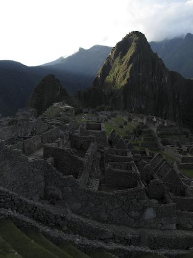 Machu Picchu Sunset