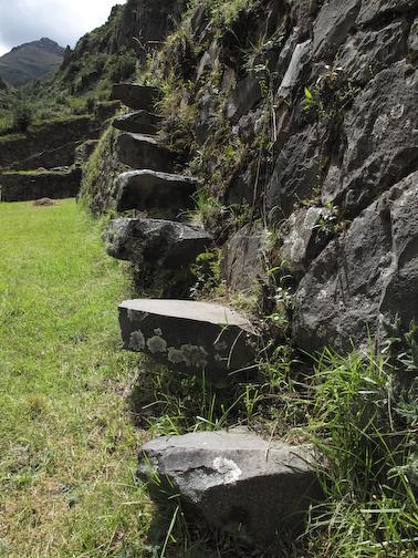 Terrace Wall Steps