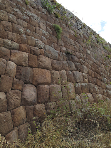 Inca Fitted Stone Wall