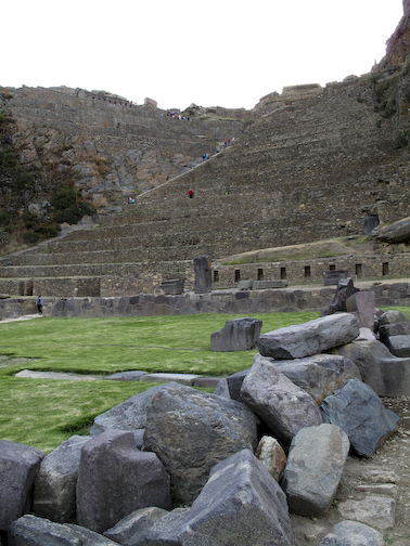 Construction Site Inca Style