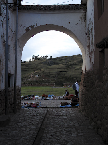 Gateway to the Church at Chinchero