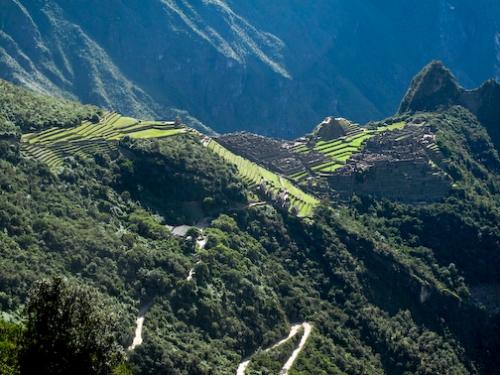 Machu Picchu in it's entirety.