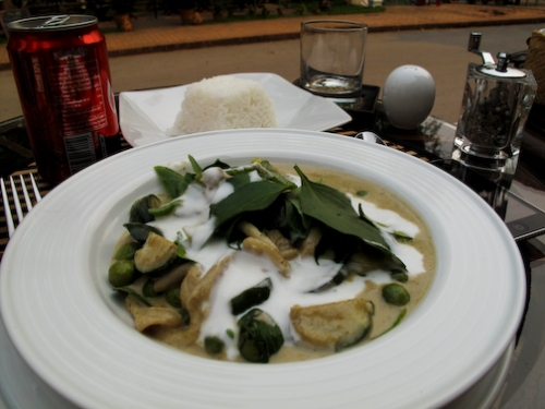Green Curry in Luang Prabang