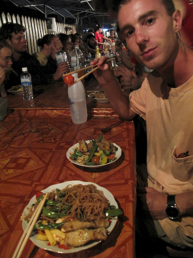 Night Market Feast in Luang Prabang