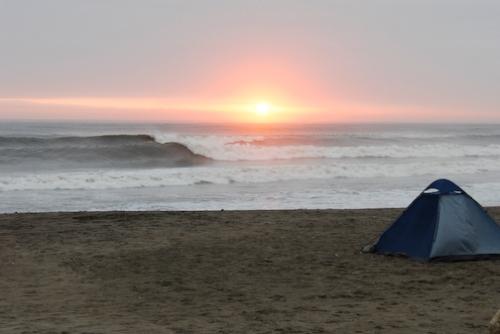 Sunset at Huanchaco Northern Beach