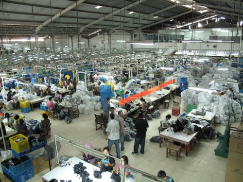 POW Gloves Production Factory