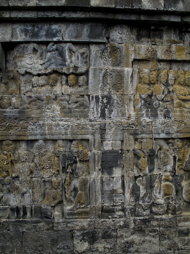 Borobudur Carving