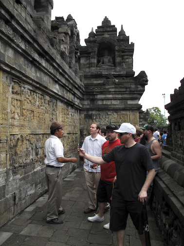 The Boys At Borobudur