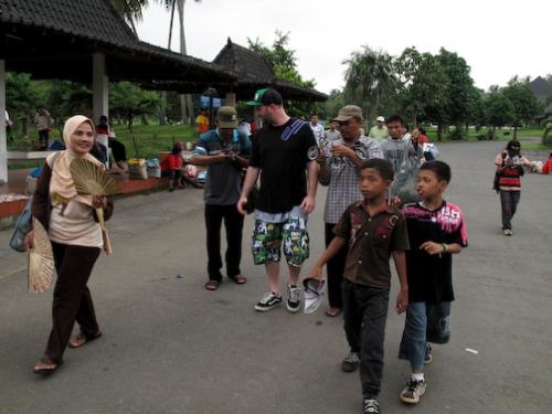 Borobudur Hawkers