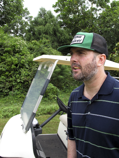 Dan In Golf Mode