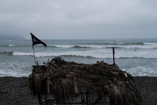 Peruvian Beach Board Stand