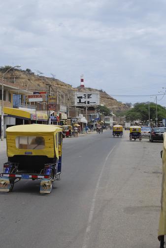 Mancora Main Street