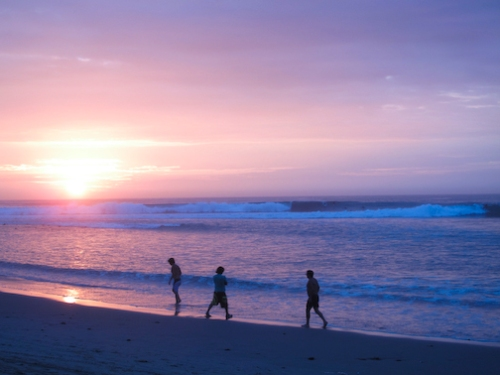 Great Surf Sunset