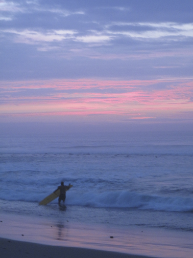Mancora Great Surf Sunset
