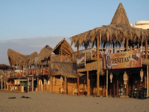 Bars Along The Beach