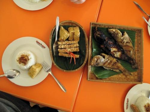 Fried Fish and Goreng (rice)
