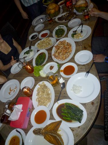 Massive Seafood Dinner
