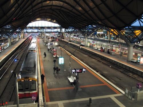 Southern Cross Train Station