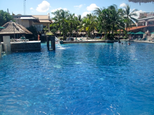 Hard Rock Hotel Pool, Tuban, Bali