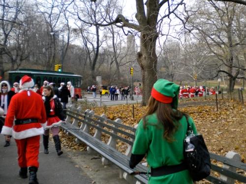 Hearing the hum of a thousand Santas